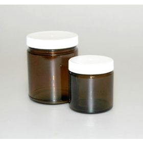 Fisherbrand Amber Straight-Sided Jars