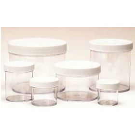 Fisherbrand Polystyrene Jars: With Foamed PE-Lined Caps