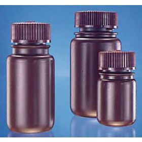 Fisherbrand Amber HDPE Wide-Mouth Bottles