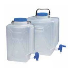 Fisherbrand Polypropylene Rectangular Carboys