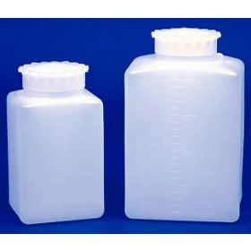 BTL SQ WM HDPE 25ML GRAD 10/PK