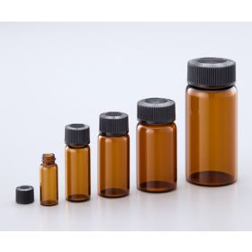 Glass Vial Amber No.8 110ml 50pcs/bx