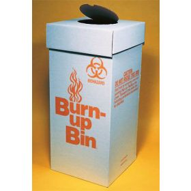 Fisherbrand Burn-up Bin Biohazard Waste Boxes