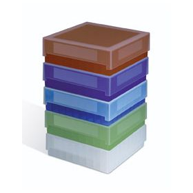 Fisherbrand 81-Place Polypropylene Cryo Storage Boxes