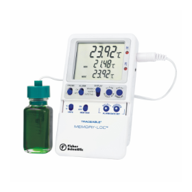 Fisher Scientific Traceable Memory-Loc Datalogging Thermometers