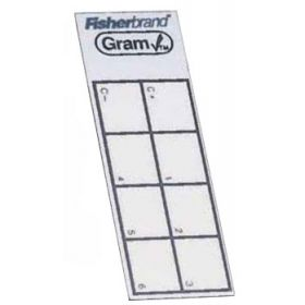 Fisherbrand Gramcheck Control/Test Slides - GRAM STAIN CONTROL SLIDE 50/PK