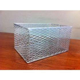 Fisherbrand Aluminum Test Tube Basket - ALUM TEST TUBE BASKET 13X9X7IN