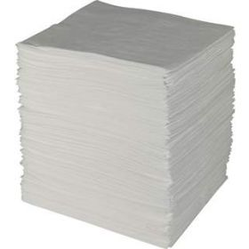 Fisherbrand Oil Only White Absorbent Pads