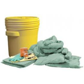 FisherBrand 17 gal. Chemical Spill Kit - FB 20 GAL CHEMICAL SPILL KIT