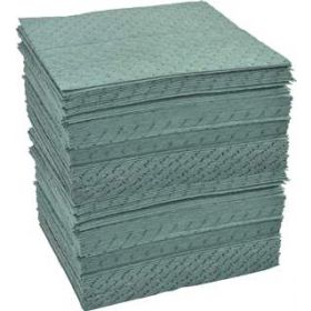 Fisherbrand Universal - All Purpose Dark Green Absorbent Pads - FB PADS,RCY UNV,15X19 LW 200CS
