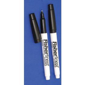 Fisherfinest Chemically Resistant Markers - FF MARKER BLK CHM RESIST 12/PK (HAZARDOUS)