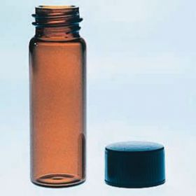 Fisherbrand Class B Amber Glass Threaded Vials