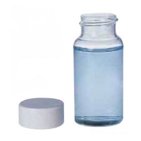 Fisherbrand 20mL Borosilicate Glass Scintillation Vials: White Polypropylene Caps