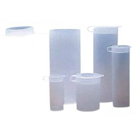 Fisherbrand Polyethylene Sample Vials with Hinged Cap
