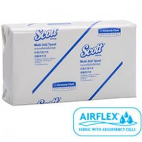 SCOTT Multi-Fold Fully Wrapped Hand Towel Airflex(16pkx250s)