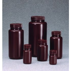 Thermo Scientific™ Nalgene™ Amber Narrow-Mouth HDPE Bottles