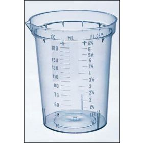 Fisherbrand™ Polystyrene Beakers with Pouring Lip