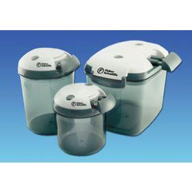 Fisher Scientific™ Circular Bottom Desi-Vac™ Container Desiccators with Vacuum Pump