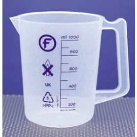 Fisherbrand™ Intermediate-Form Polypropylene Beakers with Handles