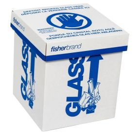 Fisherbrand™ Glass-Disposal Box, Benchtop