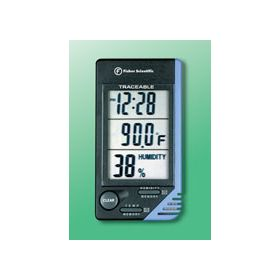 Fisher Scientific™ Traceable™ Thermometer/Clock/Humidity Monitor