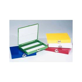 Fisherbrand™ Color-Coded ABS Plastic Boxes for 25 or 100 Slides