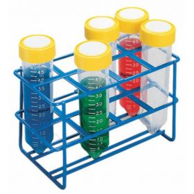 Fisherbrand™ Wire Test Tube Rack, 8 positions for 30 mm Tubes, 50 mL Tubes