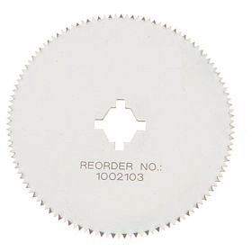 Thermo Scientific™ Shandon™ Round Autopsy Saw Blades, Round blade with arbor