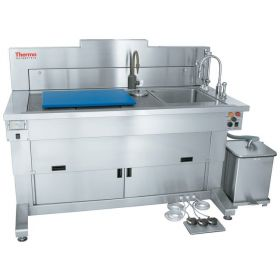 Thermo Scientific™ Shandon™ Gross-Star™ Pathology Workbenches, fixed height, right hand sink, foot pedal