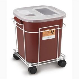 Medegen Rolling Carts for Sharps Containers