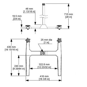 Fisherbrand™ Safety Stand for Overhead Stirrers