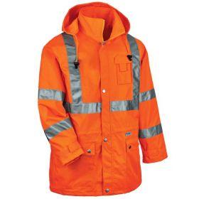 Ergodyne™ GloWear™ 8365 Type R Class 3 High Visibility Rain Jacket
