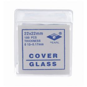GSC Go Science Crazy Glass Microscope Coverslips, 22 x 22mm