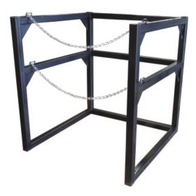 Justrite™ Gas Cylinder Barricade Rack for Cryogenic Cylinders