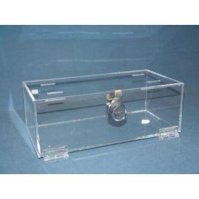 Mitchell Plastics Refrigerator Storage Box with Lock