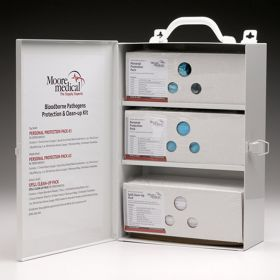 Moore Medical MooreBrand™ Bloodborne Pathogens Protection Wall Kit