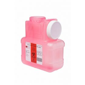 Post Medical Sharps Container with Locking Screw Cap