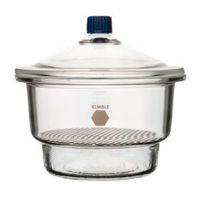 DWK Life Sciences Kimble™ Desiccator with Plastic Top Knob, 150x255