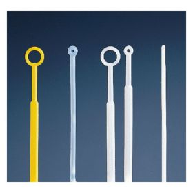 Fisherbrand™ Disposable Inoculating Loops and Needles, Flexible Loop; Volume: 1μL; Color: Blue