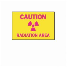 Brady™ Caution Radiation Area Sign