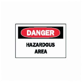 Brady™ Danger Hazardous Area Signs