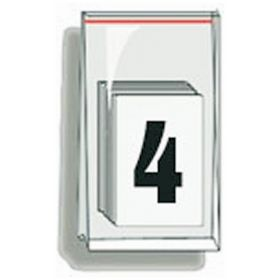 Accuform Signs Self-Adhesive Individual Numerals