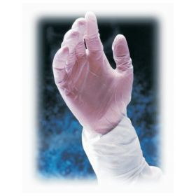 PIP™ CleanTeam ™ Single Use Class 10 12 in. Cleanroom Vinyl Gloves with Finger Textured Grip