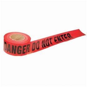Accuform Signs Danger: Do No Enter Barricade Tape