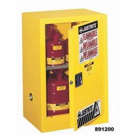 Justrite™ Sure-Grip™ Manual Safety Cabinet