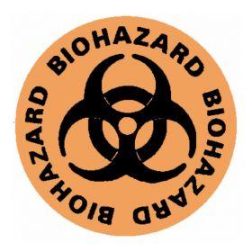 "National Marker™ ""Biohazard"" Walk-On Floor Sign"