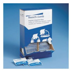 Bausch & Lomb™ Pre-Moistened Respirator and Equipment Wipes