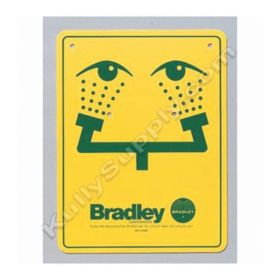 Bradley™ Eyewash Sign for Emergency Fixtures