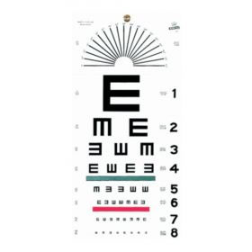 Graham-Field™ Grafco™ Illiterate Eye Chart
