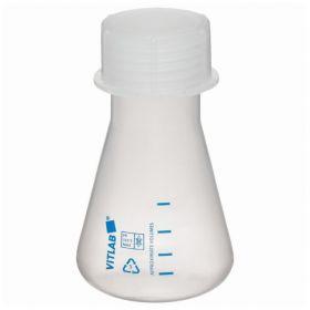 BrandTech™ Erlenmeyer Flasks with Screw Caps